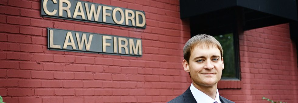 Criminal Defense Lawyer Brandon Crawford at the Crawford Law Firm